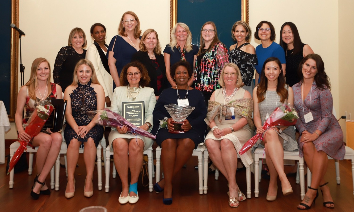 Annual Award Winners, Sponsors and WLAO Board 2018 AAG
